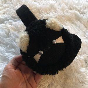 New Coach raccoon ear muffs